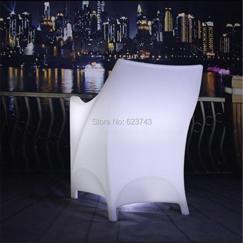 plastic glowing led armchair armrest backrest(3)