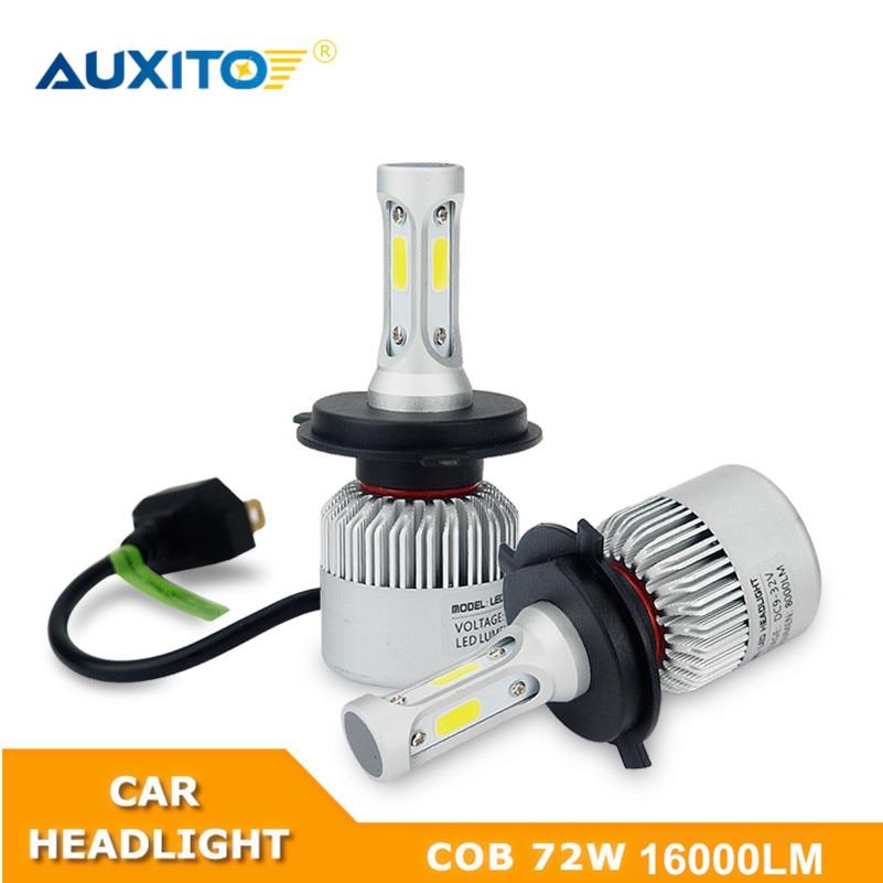 цена на 2X For Kia Rio 3 K2 Ceed Sorento Cerato Picanto Soul Optima K3 Forte Sportage 3 H11 H7 H1 9003 LED Headlight Bulb 16000LM 12V