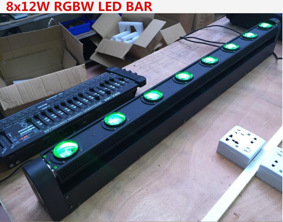 2pcs/lot LED Bar Beam Moving Head Light RGBW 8x12W Perfect for Mobile DJ, Party, nightclub Colorstage 8 BEAM MOVING  2pcs/lot LED Bar Beam Moving Head Light RGBW 8x12W Perfect for Mobile DJ, Party, nightclub Colorstage 8 BEAM MOVING