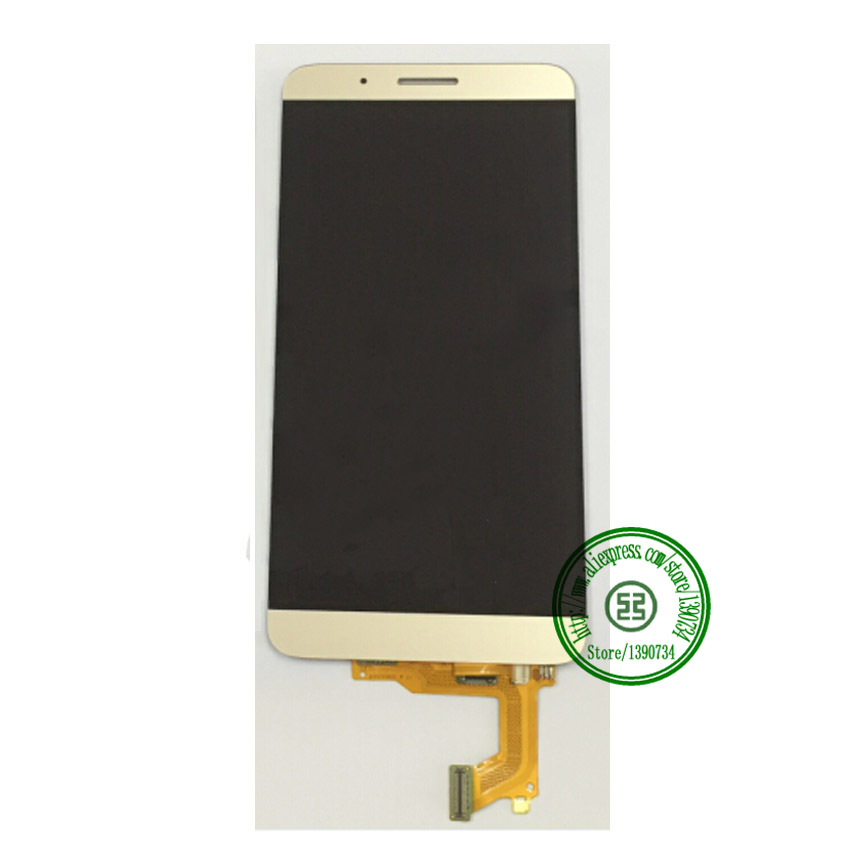 ФОТО 100% Tested Working New LCD Screen Display + Touch Panel Digitizer Assembly For Huawei Honor 7i Cell Phone Repair Parts Gold