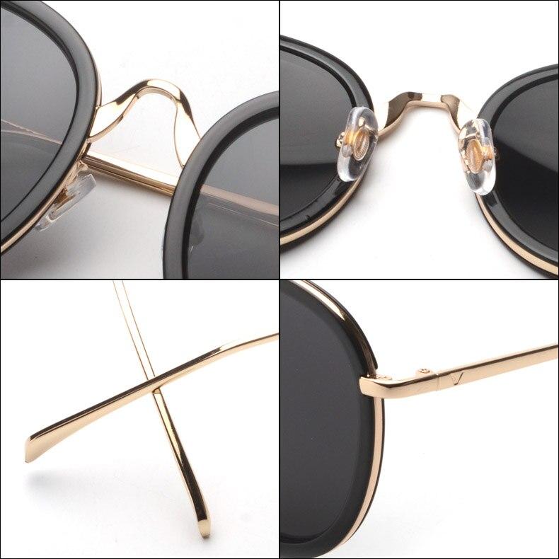 Atractivo Gafas De Sol Redondas Estructura De Metal Fotos - Ideas ...