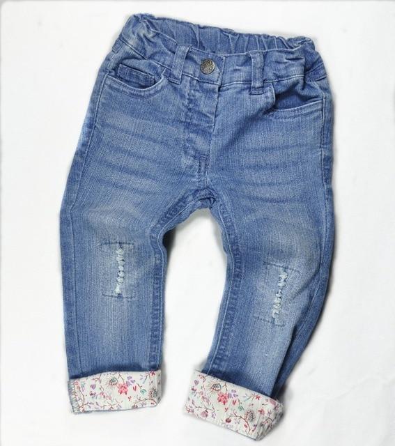 Новый 2015 мода детская одежда бренд джинсовые брюки девочек узкие джинсы малыша леггинсы брюки мальчиков брюки