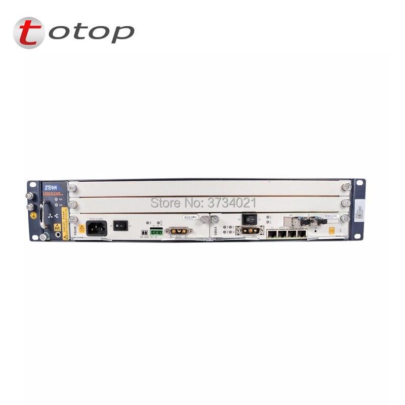 Bta zte ZTE BTA ZXA10 C320 2U Optique Équipement Terminal De Ligne, GPON ou EPON carte SMXA carte, LANDAU carte, AC + DC alimentation