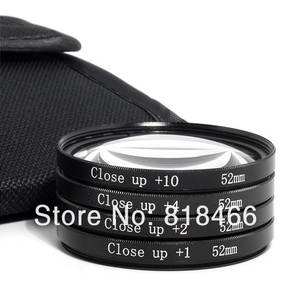 Image 3 - Macro Close Up Lens filter +1+2+4+10 Filter Kit 49mm 52mm 55mm 58mm 62mm 67mm 72mm 77mm for canon nikon sony pentax dslr camera