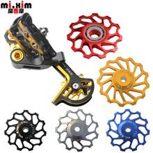 mi.xim TT11 TT13 MTB Bike Ceramic Bearing 11T Rear Derailleur Parts 13T CNC Guid