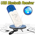 Compact and Mini Wireless USB Bluetooth Music Receiver Adapter Stereo Audio Receiver for iPhone for Speaker TV Smartphones etc