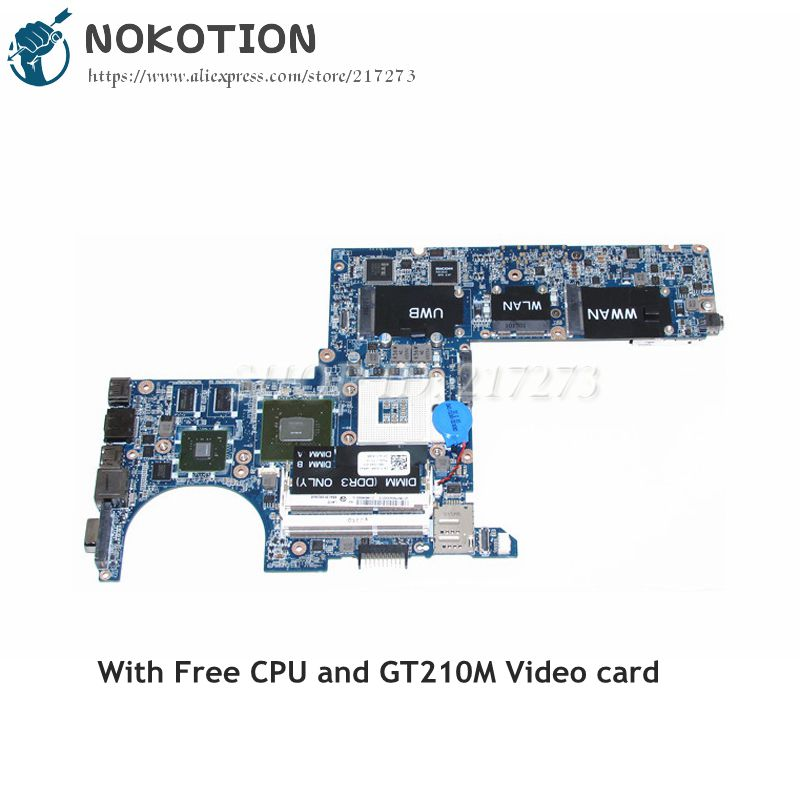 NOKOTION CN-0Y526R 0Y526R Y526R Laptop Motherboard For Dell Studio XPS 1340 Main board DDR3 GT210M graphics Free CPU cn 0pu073 0pu073 suitable for dell xps m1330 laptop motherboard with g86 631 a2 upgrated graphic card