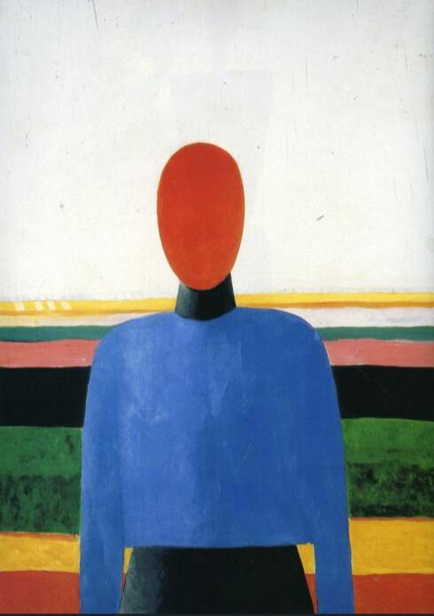 High quality Oil painting Canvas Reproductions Female Torso (1933) By Kazimir Malevich hand paintedHigh quality Oil painting Canvas Reproductions Female Torso (1933) By Kazimir Malevich hand painted