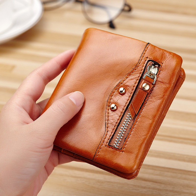 2018 New Genuine Leather Wallet for Women Lady Wallet Women Coin Purse Pocket Small Female Women Wallet Card Holder Clutch DC143 viewinbox black genuine cattle leather mini short wallet and purse small wallet feminine clutch genuine leather wallet
