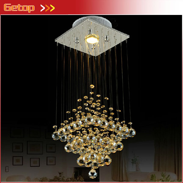 Best Price Modern Crystal Lamp Hanging Wire Ceiling Lights