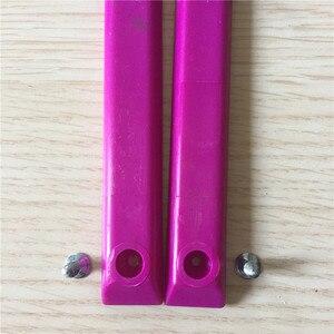 Image 3 - Gorąca sprzedaż twardy PVC Skate szyny ochronne ulica deskorolka szyny do ochrony ciężarówki deskorolka