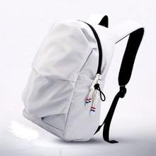 SWYIVY Womens Backpacks Bag Waterproof Nylon For Woman 2019 White/black Student School Packpack Female Backbags