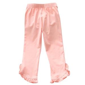 Импортные товары, детская одежда для девочек, 2020 г. Однотонные леггинсы с деревянными ушками в Корейском стиле, детская одежда