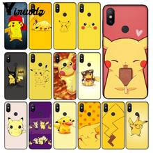 Yinuoda pokemons eevee pika Soft Silicone TPU Phone Cover for Redmi 5 plus Note 5 Xiaomi Mi 6 8 8 SE Note 3(China)