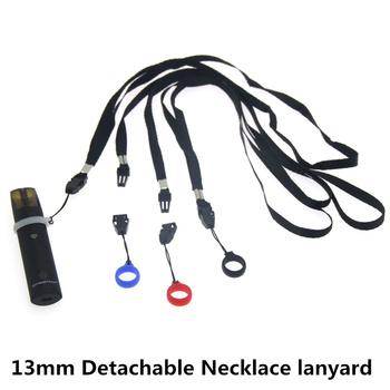 5PCS Detachable Necklace lanyard with 13mm Silicone Ring Band for Vape Pods Kit E-Cigarette Accessoriess