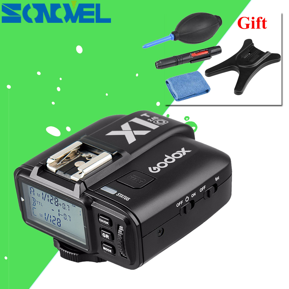 GODOX X1T-O TTL Strobe Trigger 1/8000 s HSS 32 Canali 2.4G LCD Wireless Flash Trigger Trasmettitore per Olympus Panasonic GH5 GH4
