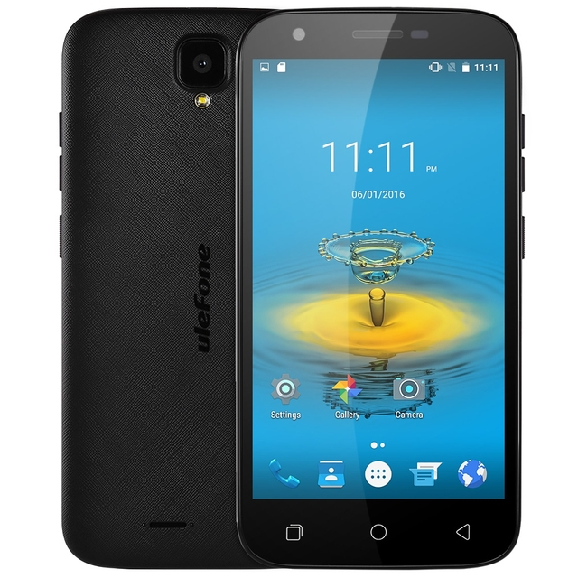 Original Ulefone U007 Pro Quad Core MTK6735 Android 6.0 5.0 inch 4G Mobile Phone 1.0GHz 1GB RAM 8GB ROM 13.0MP Smart Cellphone