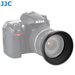 Image 1 - JJC ユニバーサル金属広角レンズフード 49 ミリメートル 52 ミリメートル 55 ミリメートル 58 ミリメートル 62 ミリメートル 67 ミリメートル 77 ミリメートル 82 ミリメートルねじ込みカメラレンズプロテクター