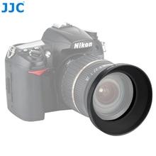 JJC Evrensel Metal Geniş açı Lens Hood 49mm 52mm 55mm 58mm 62mm 67mm 77mm 82mm Vidalı Kamera Lens Koruyucu
