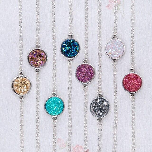 Druzy Bracelets Round