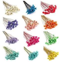 1 коробка заполнения цветок сухой цветами ручной работы DIY Эпоксидной Смолы наполнителя ремесел силиконовые формы инструменты кристалл