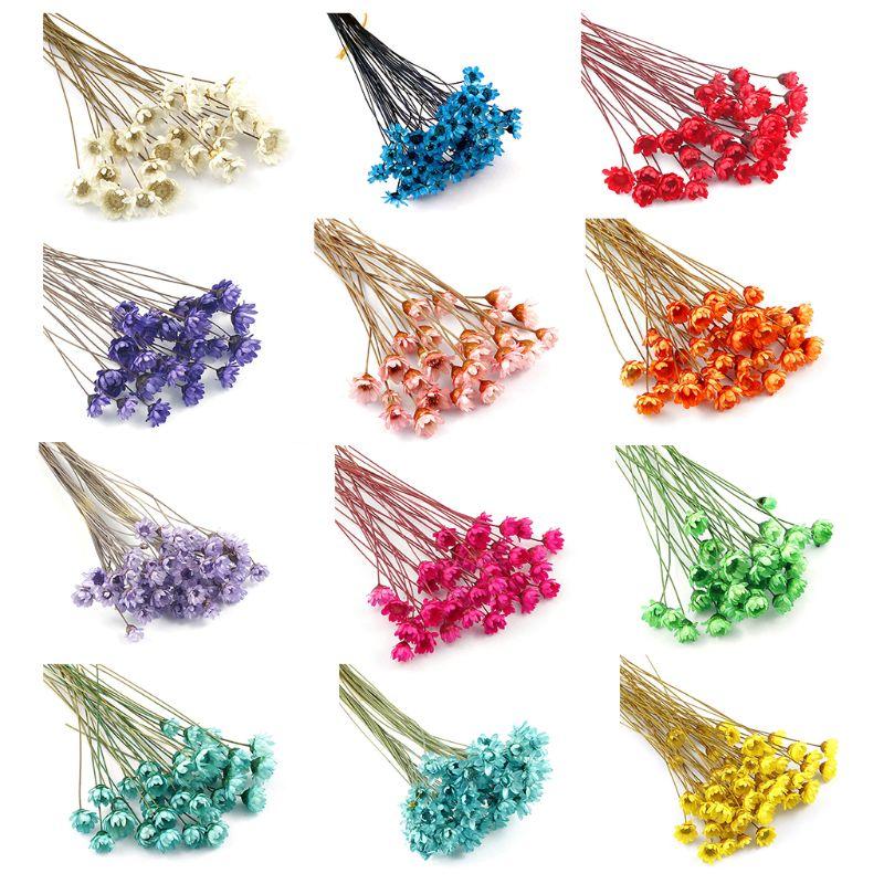 1 caixa de enchimento flor seca flores artesanais diy resina cola epoxy enchimento artesanato moldes silicone ferramentas cristal uv acessórios decoração