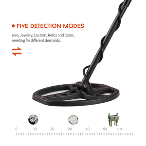 Image 5 - Professional Metal Finder High Sensitivity Underground Metal Detector Gold Digger Jewelry Hunting Treasure Search with Earphone