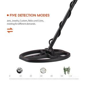 Image 5 - Profissional localizador de metais alta sensibilidade detector de metais subterrâneo caça jóias caça tesouro com fone de ouvido