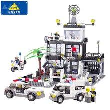 Esquadra KAZI Building Blocks Car Styling Blocos 631 + pcs 3D Blocos Modelo Brinquedos Playmobil Brinquedos Para As Crianças