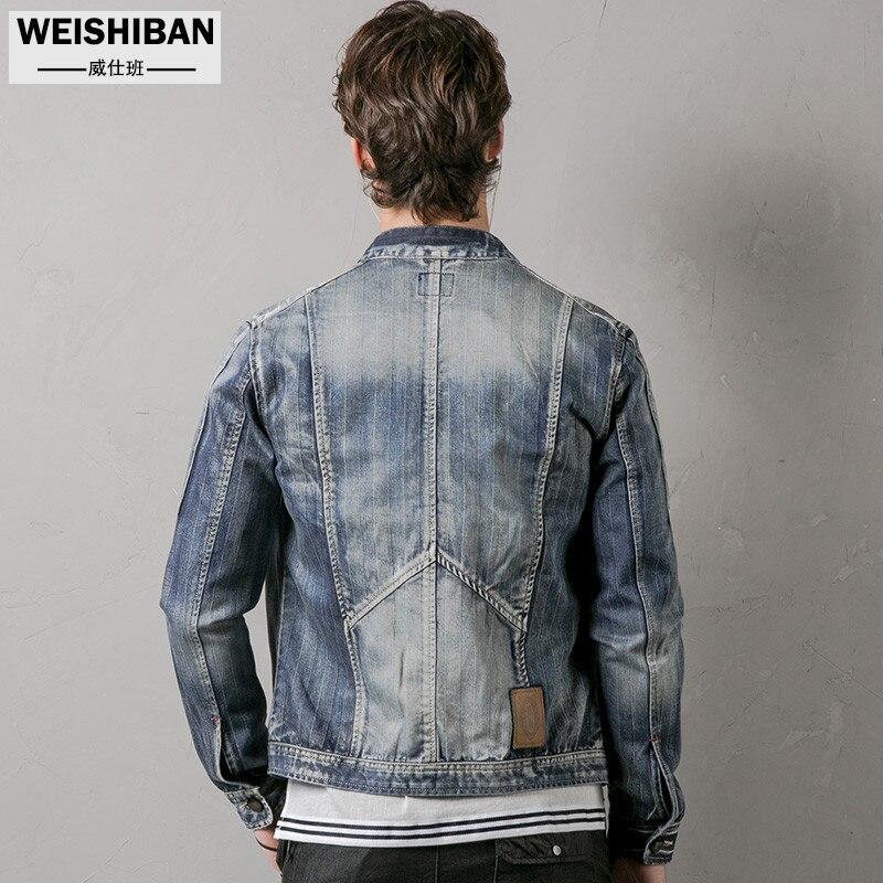 Supérieure De Nouveau Hommes En Moto Vestes Veste Rétro Pluse Bleu Marque Blue Décontracté A3320 Jeans Qualité Taille Denim 2019 Mince Cargo yPwOv0mN8n