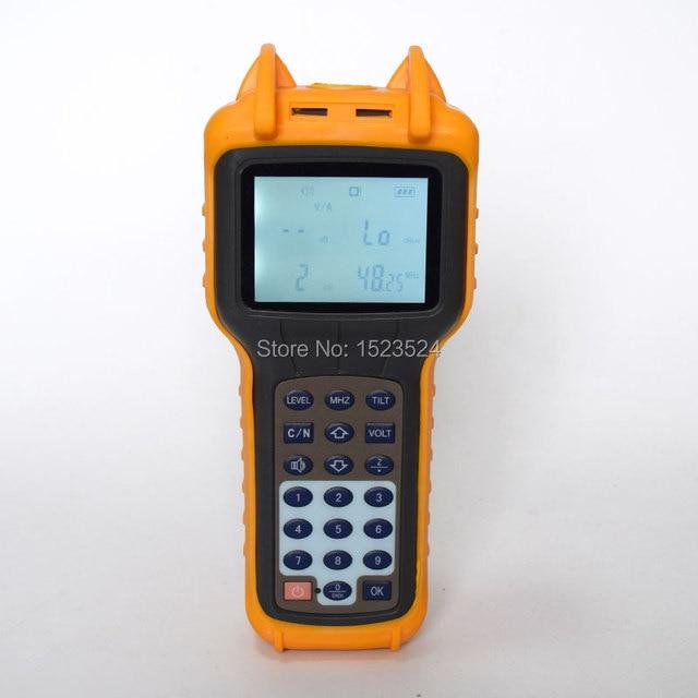 CATV Signal Level Meter 46~870MHz CATV Cable TV Tester RY S110 Analog TV Meter