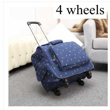 Women luggage suitcase on wheels Travel trolley Luggage bag 20 Inch wheeled bags Laptop Business Travel trolley spinner suitcase