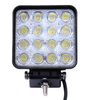 10 Pieces 48W 16 X 3W Car LED Bar As Square Work Drive Lamp Spot Light