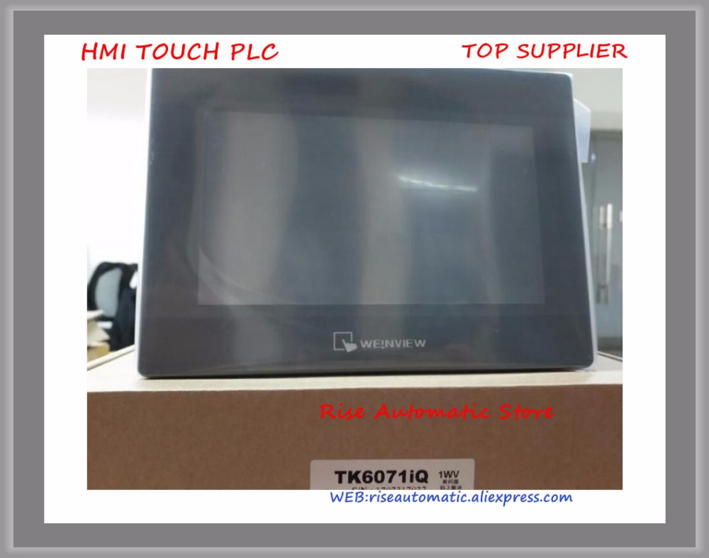 7 inch Operate Panel Touch Screen Touch Panel HMI TK6070IQ or TK6071IQ Full Replace Of TK6070iP
