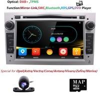 2DIN DVD GPS for Vauxhall Opel Astra H G J Vectra Antara Zafira Corsa Multimedia screen car radio stereo audio DAB+SWC BT RDS SD