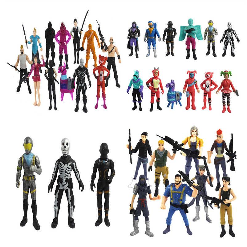 Popular Jogo de Lhama Figura Brinquedos Quinzena Noite Caráter Modelo Boneca de Brinquedo Melhores Presentes de Natal Para Crianças brinquedos brinquedos Noite de Fortaleza