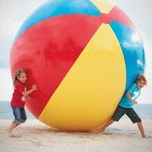 1 шт. Лидер продаж для малышей и детей постарше взрослого игра на пляже, в бассейне мяч надувные детские ПВХ Развивающие мягкие Обучающие игрушки 200 см
