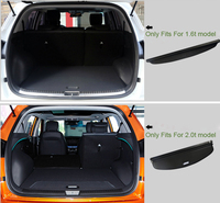 Rear Trunk Boot Cargo Cover Security Shield Shade Protector For Hyundai Creta ix25 Cantus 2014 2015 2016 2017 Car accessories