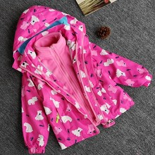 Kids Baby Boy Girl Sport Coat Hooded Clothes
