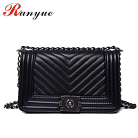 RANYUE Luxury Handbags Women Bags Designer Women Messenger Bags 2017 Summer Vintage Fashion V Small Chain