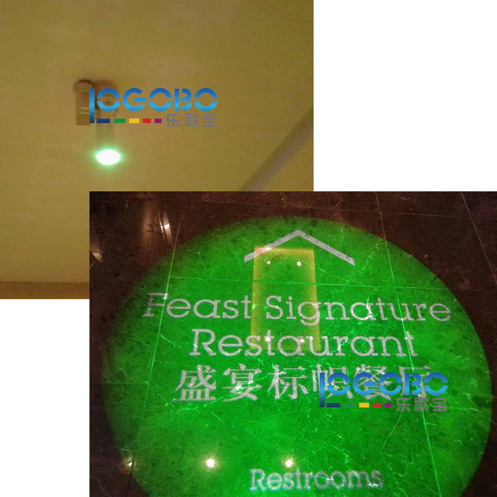 Updated LED Gobo Projector 20W Indoor Outdoor Publicidad Light Real Estate Sign Board Lichtbak Proyector Logo Led Advertising