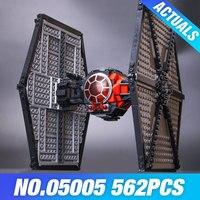 Lepin 05005 The First Order Tie Set Fighter Genuine Star Plan DIY 75101 Building Blocks Bricks Educational Wars Toys Kids Gifts
