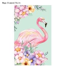 DIY 5D Diamond Embroidery Animal,Flamingo Full Rhinestone5D Painting Cross Stitch Phoenicopteridae Mosaic