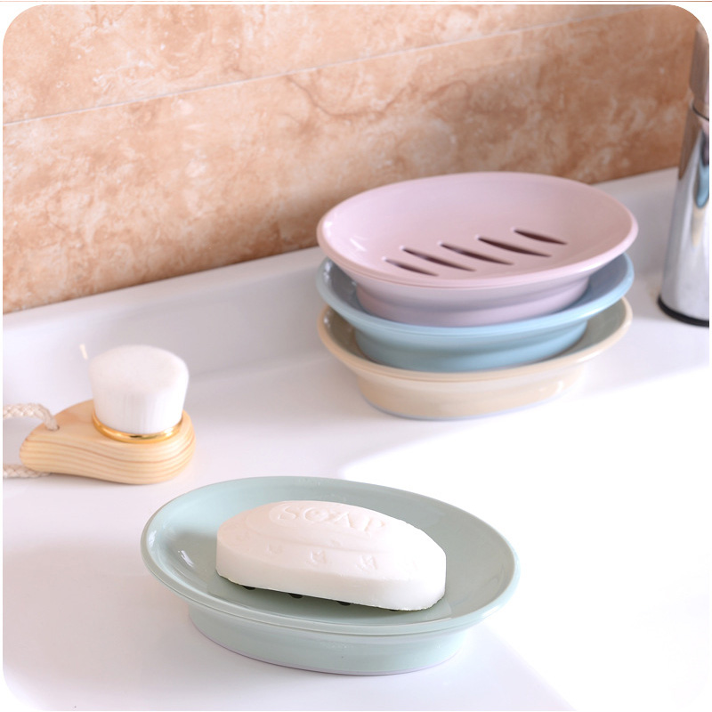 Drainage Bathroom Elegant Liquid Soap Storge Box Modern Creative No Cover Wash Basin Laundry Soap Box in Portable Soap Dishes from Home Garden