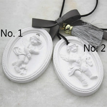 Angel Oval Soap silicone mould aromatherapy gypsum tablet Clay Hanging Pendant Mold DIY Making Silion Molds