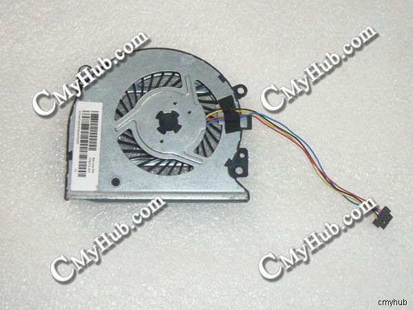 Genuine For HP ENVY X360 15 U010DX DC5V 0.50A 4Pin 4Wire Cooling Fan KSB0705HBA15 779598 001