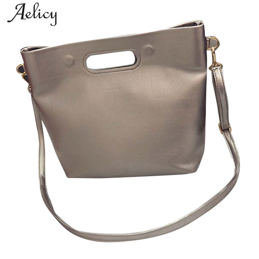 Aelicy Handbags Ladies Totes-Bag Shoulder-Bag Vintage Fashion-Designer Brand Women Pu