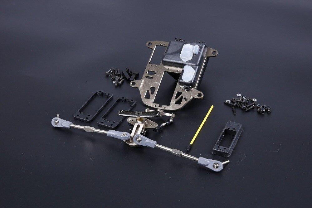 CNC BAJA metal symmetrical steering Kits (plastic rod version) fit for hpi baja 5b ss 5T cnc metal steering wiper arm set for 1 5 hpi baja 5b 5t 5sc
