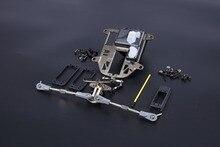CNC BAJA metal symmetrical steering Kits plastic rod version fit for hpi baja 5b ss 5T