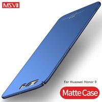 Funda para Huawei Honor 9 MSVII, carcasa trasera dura, ultrafina, mate, Honor 9 Lite